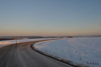 Straße nach Michelbach