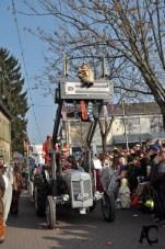 Alte Bulldogs der Historischen Landtechnik Rheinhessen