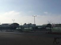 Tanken... Leerer Globus Parkplatz - eine Seltenheit... aber sonntags wohl normal :D