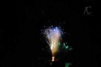 Das Feuerwerk beginnt