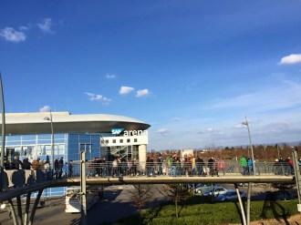 Rhein-Neckar-Löwen gegen Flensburg-Handewitt 28.02.2015. Die SAP-Arena.