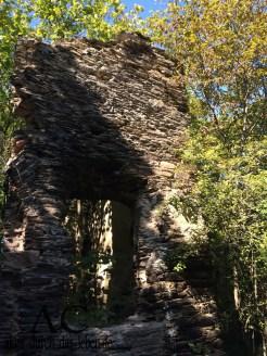 Für Fotos gut, die Ruine Waldeck