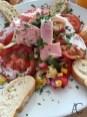 Ein leckerer Salat am Wellness-Tag