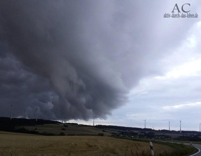 Auch Wetterkapriolen gint es in Deutschland ;-) hier im Hunsrück bei Michelbach