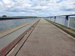 Die 2003 erffnete längte Kanalbrücke der Welt