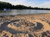 Sandburgen am Bernsteinsee