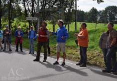 Ranger Speck übergibt das Wort an Manuel Andrack, der die zweite Tour führte
