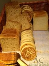 Toast und Pancakes