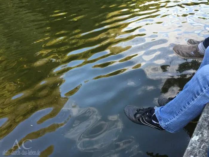 Ein Platz direkt am Ufer