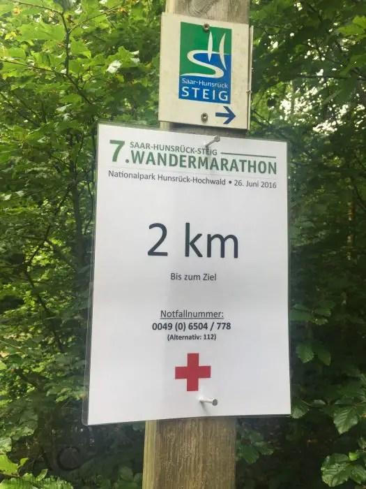 Wandermarathon Saar-Hunsrück-Steig 2016