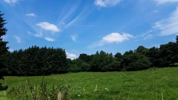 Traumschleife Heimat - blauer Himmel