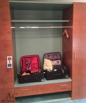 Kofferablage