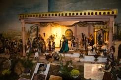 Eine Bibel-Szene mit Figuren von Ilona Klawitter