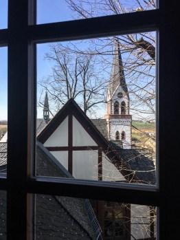 Blick auf die katholische Kirche