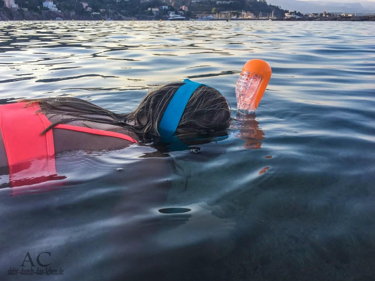 Schnorchelmaske Subea Easybreath von Decathlon - unsere Erfahrungen