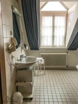 Das Bad, groß und behindertengerecht