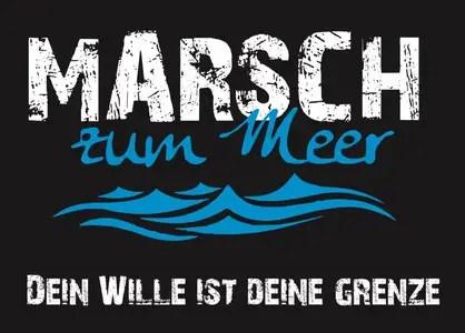 Vorbericht: Marsch zum Meer 2018 - Der Marsch mit Mee(h)rwert