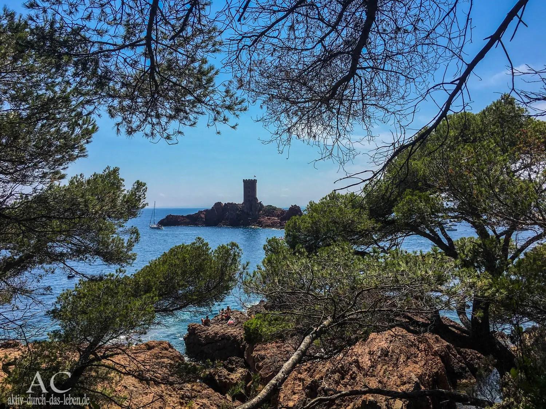 Wandern an der Côte d'Azur –   Rund um das das Cap Dramont