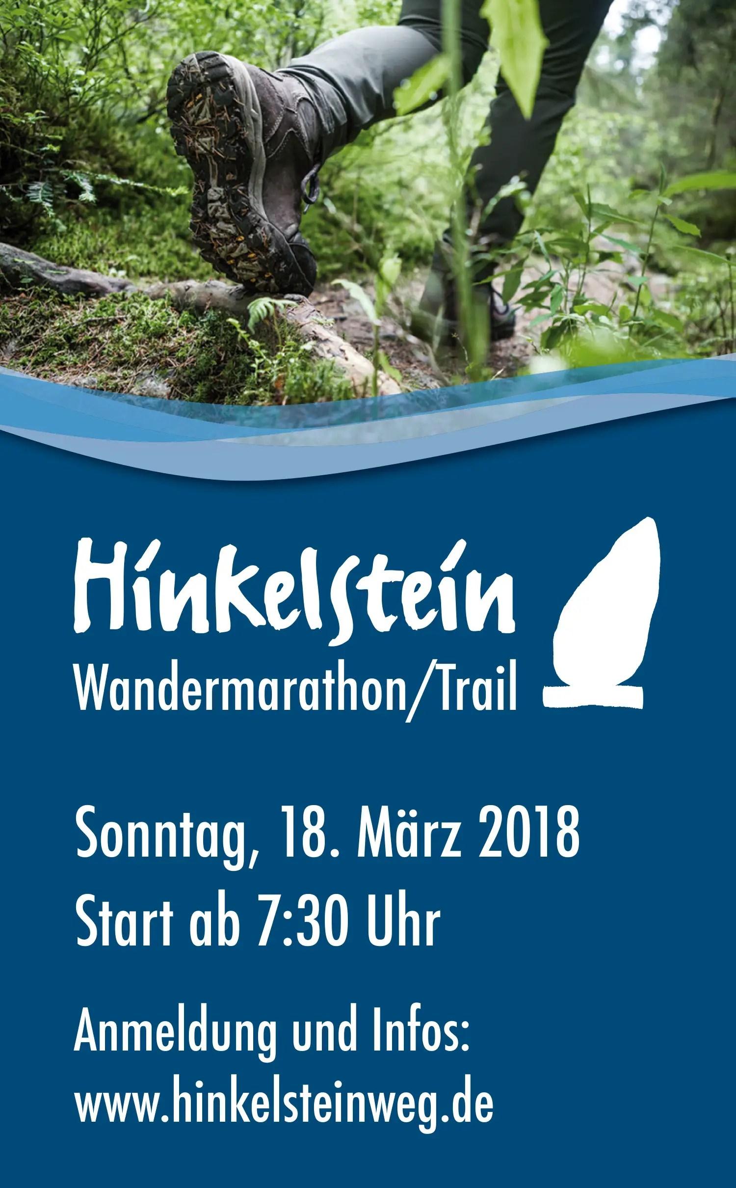 Vorbericht : Der 4. Hinkelstein-Wandermarathon rund um Otterberg 2018