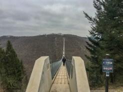 Blick auf die Brücke von der Sosberger Seite