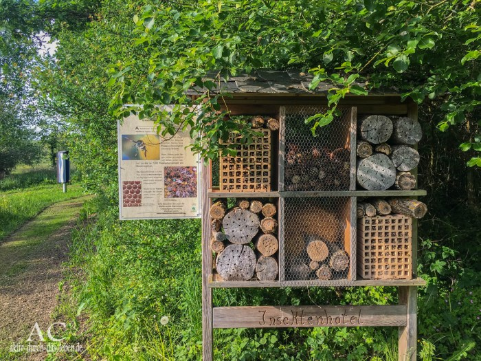 Insektenhotel Erlebnisfeld Mannebach