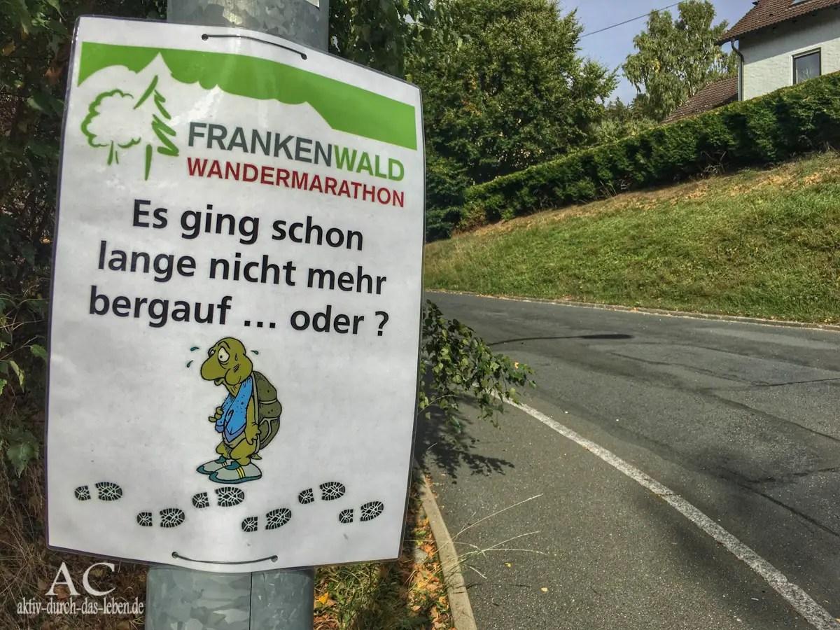 Der Frankenwald Wandermarathon – tolle Landschaft meets Herzlichkeit
