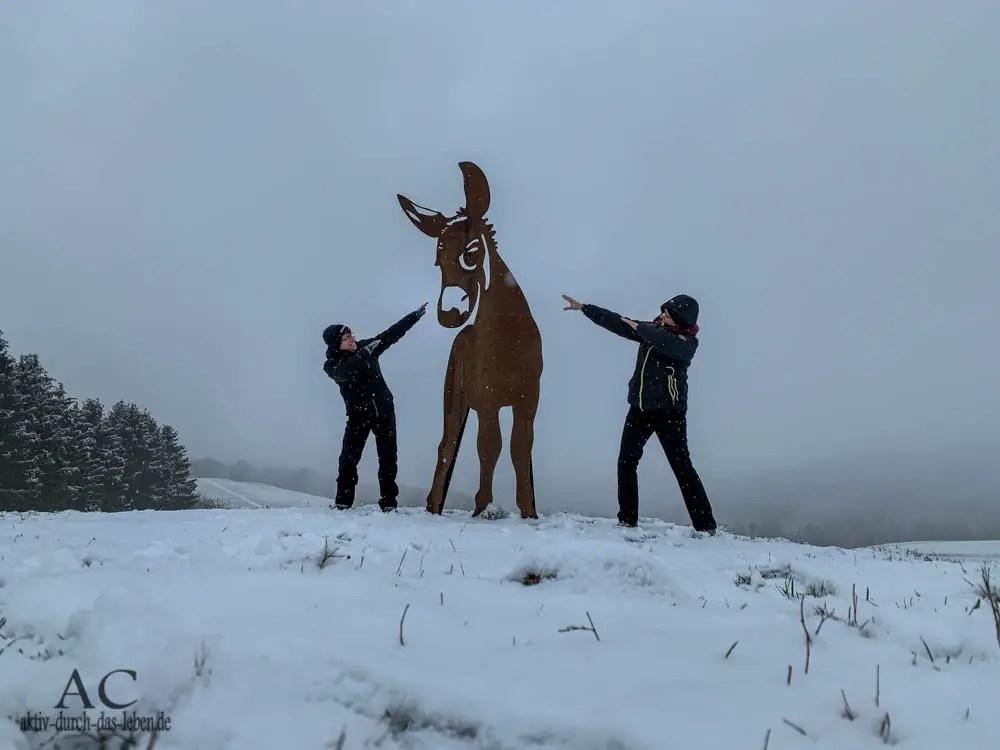 Winterwunderland Hunsrück – Traumschleifchen Murscher Aussichten