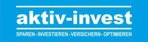 Logo aktiv-invest   sparen - investieren - versichern - optimieren