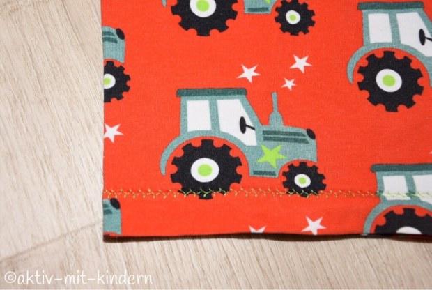 Babyshirt von Klimperklein mit Traktor