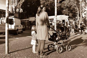 Unterwegs mit Kinderwagen und Rauswurf aus der Brasserie Saarbrücken in der Bahnhofstraße