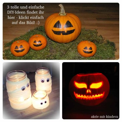 DIY Ideen für Halloween