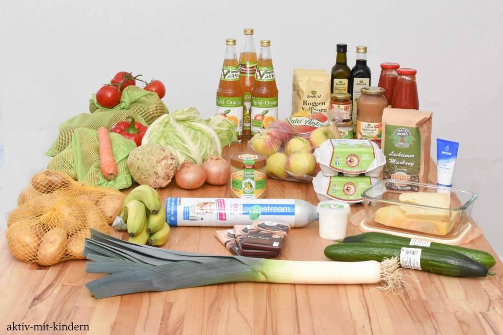 Nachhaltiger und verpackungsarmer Einkauf