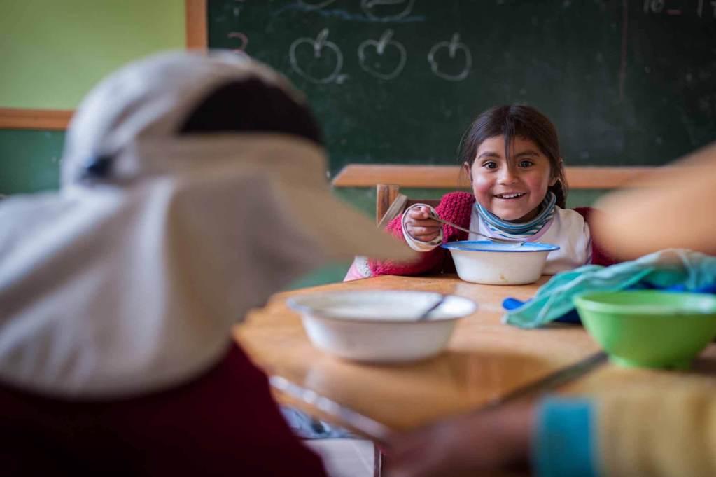 World Vision verhilft Kindern zu ausreichender Ernährung