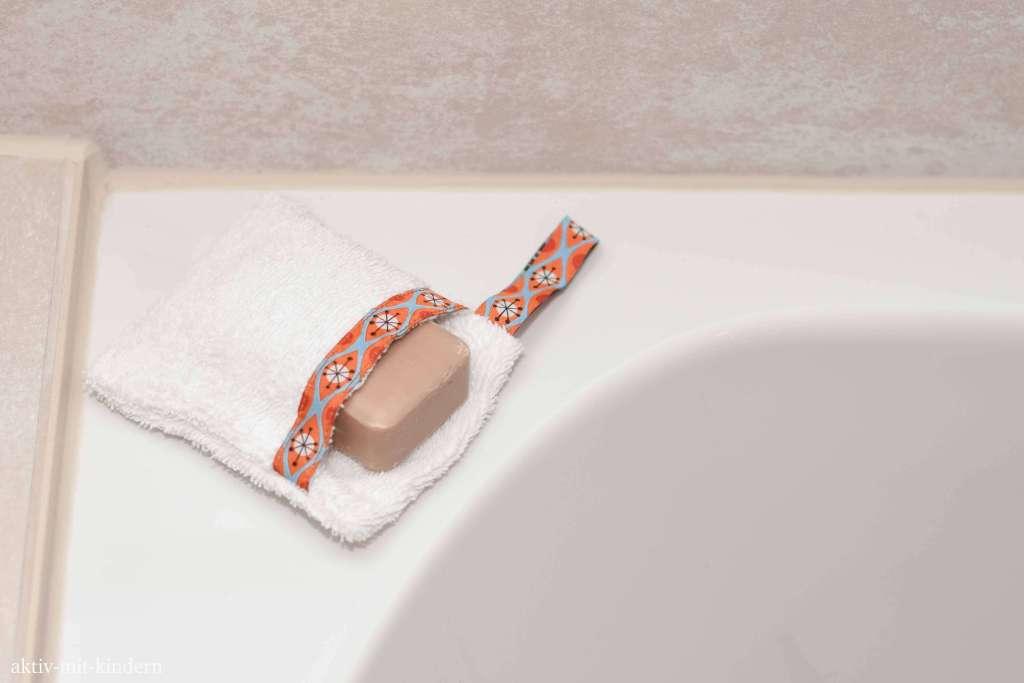 Seifensäckchen für den Transport von Seife und festem Shampoo