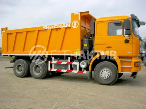Китайский грузовик Самосвал Shacman Shaanxi 6x4 в Иркутске!