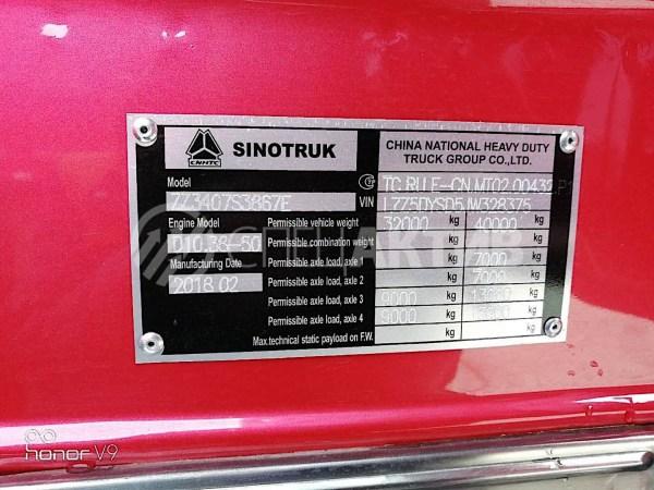 Купитьсамосвал HOWO Sinotruk, в Иркутске! 6x4, 340 л.с.