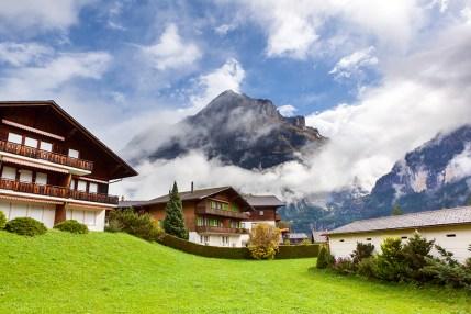 Herlig landskap i Sveits!