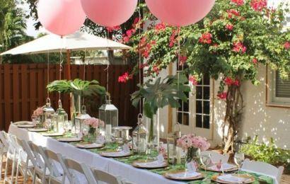 Borddekking dåp – Inspirasjon og tips til dekking av bord til dåpsfest