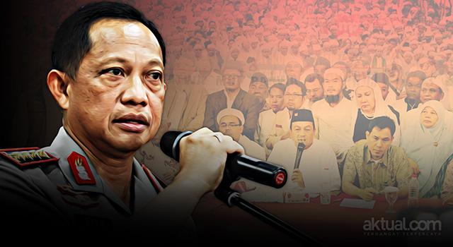 Jenderal Pol Tito Karnavian menuding Aksi Bela Islam III pada 2 Desember mendatang telah direncanakan untuk melakukan makar dengan mengusai Gedung MPR RI. (ilustrasi/aktual.com - foto/antara)