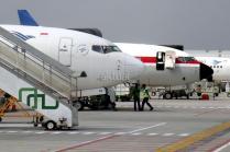 Suasana terminal 3 Bandara Soekarno-Hatta, Tangerang, Banten, pekan lalu. Maskapai Garuda Indonesia memperkirakan kenaikan penumpang sebesar 15 persen pada musim libur Natal 2017 dan Tahun Baru 2018. AKTUAL/Tino Oktaviano