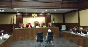 Sidang Tipikor dengan terdakwa Karen Agustiawan