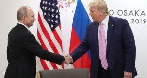 Putin Bertemu Trump di KTT G-20, Osaka, Jepang