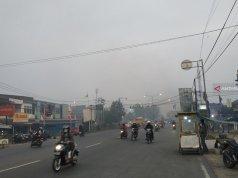 Kabut Asap di Kota Pontianak