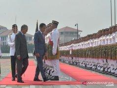 Pertemuan Presiden Joko Widodo dan Perdana Menteri Malaysia Tun Dr Mahathir Mohamad