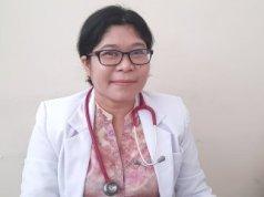 Dokter spesialis anak RSUD dr M Haulussy Ambon Sri Wahyuni.