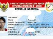 Identitas TKW asal Cirebon yang dibuang oleh majikannya di Malaysia. (ANTARA/Ho SBMI Cirebon)