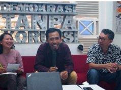 Koordinator Nasional Jaringan Pemantau Pendidikan Indonesia (JPPI) Ubaid Matraji (tengah). (FOTO ANTARA/Dokumen pribdi)
