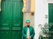 Foto: KH. Muhammad Danial Nafis saat berkunjung di Zawiyah Shidiiqiyah Tangier Maroko