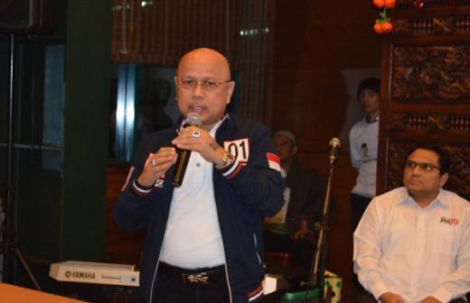 Pendiri dan Politisi Senior Partai Demokrat, HM Darmizal