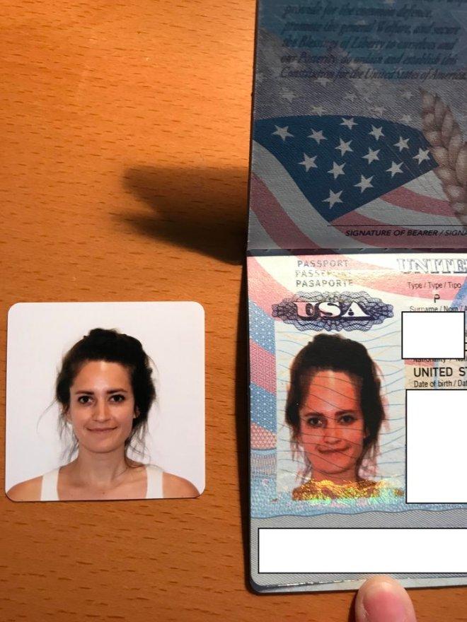 fotografie de pasaport